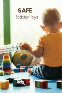 How to tell if your child's toys are safe and a list of my safe toddler toys picks.