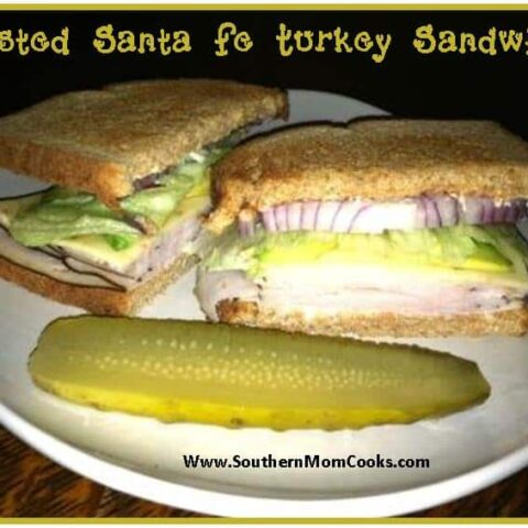 Toasted Santa Fe Turkey Sandwich