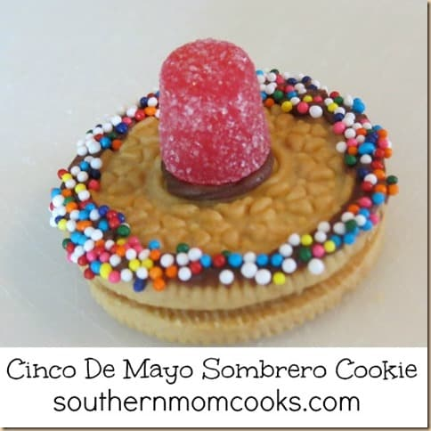 Bento Lunch Recipe, Sombrero Cookie