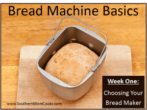 Kitchen Tips: Choosing your bread machine