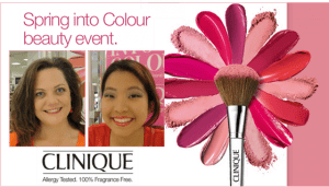 Spring into Colour Beauty at Clinique through May 4th
