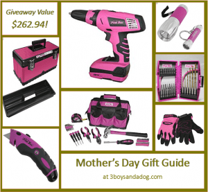 GIVEAWAY: The Original Pink Box Tools from Sears #happymothersday