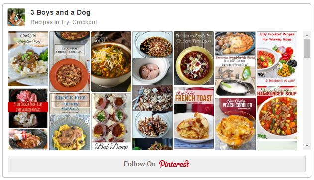 crockpot recipes on pinterest