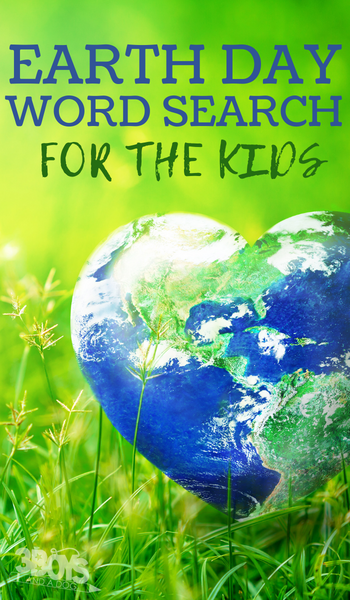free earth day word worksheet