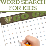 earth day vocabulary words recognition practice for children