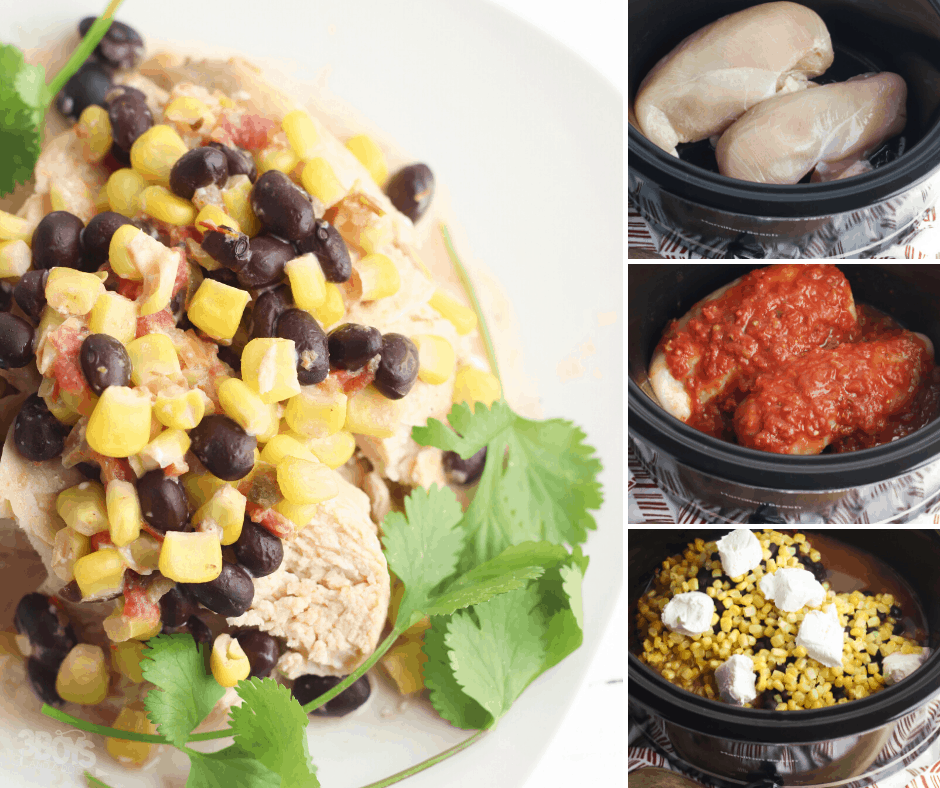 slow cooker chicken and cheese
