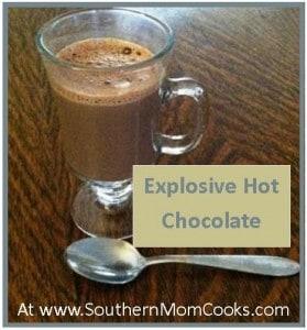 Explosive Hot Chocolate Recipe
