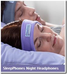 GIVEAWAY:  SleepPhones. Pajamas for your ears!