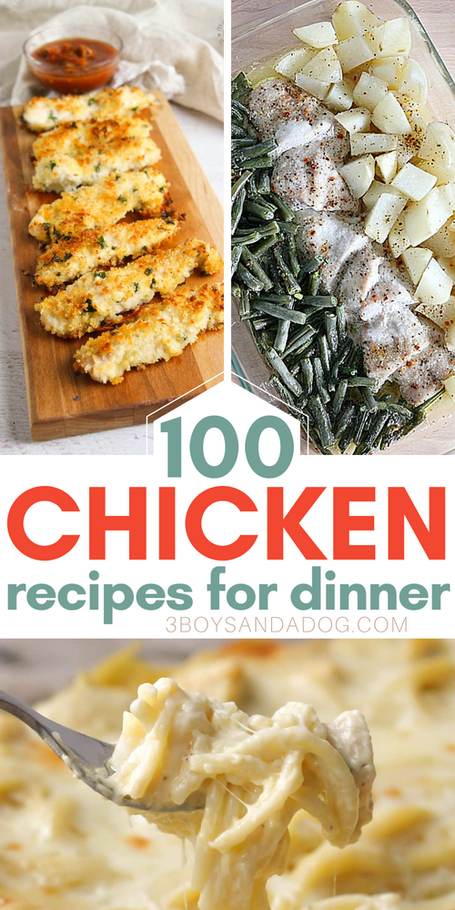 over 100 recipes using chicken