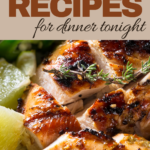 serve any of these delicious chicken dinners tonight
