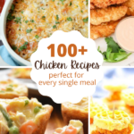 one hundred recipes that use chicken as the main ingredient