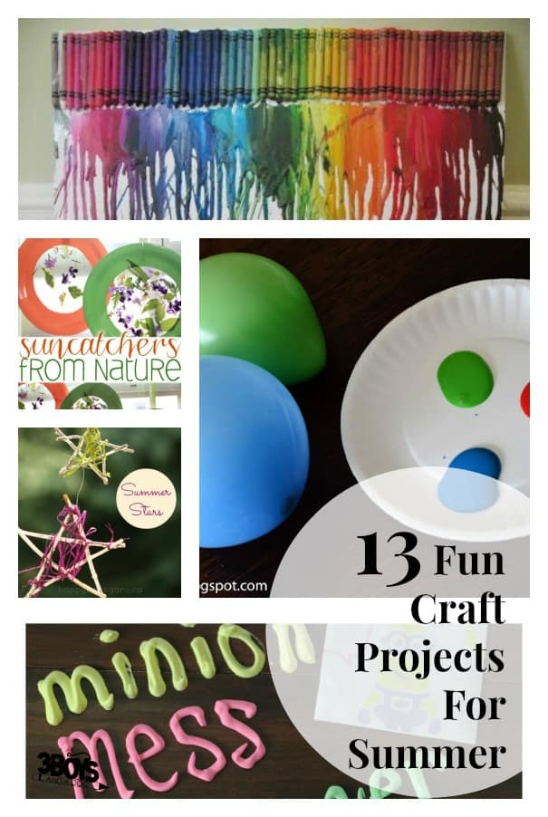 13 Fun craft projects for summer