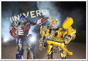 Universal Orlando Announces Newest Ride:  Transformers!