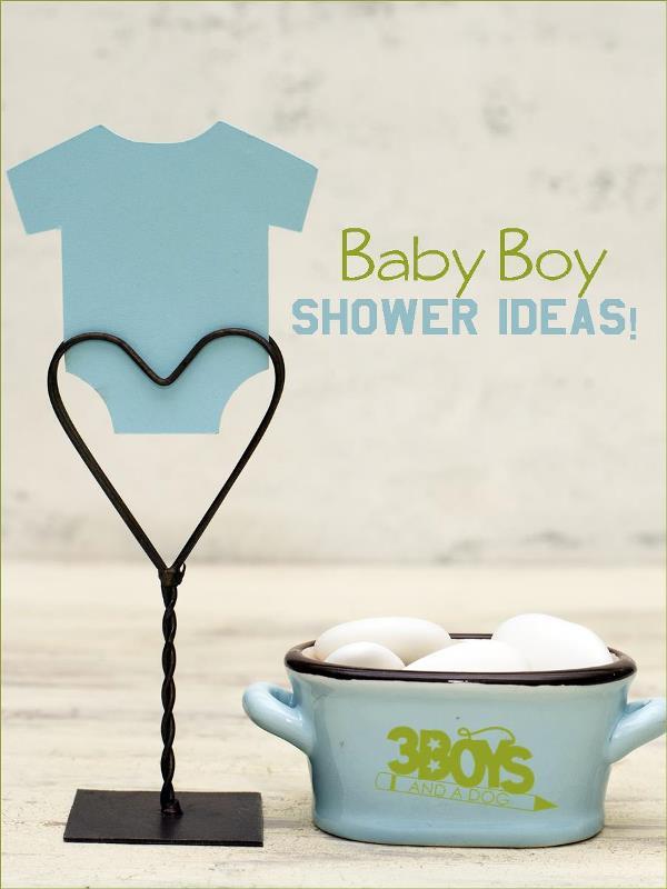 Baby Boy Shower Ideas
