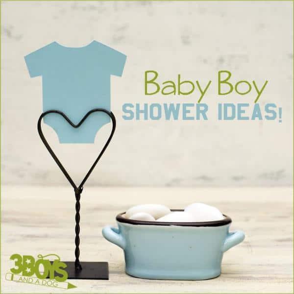Baby Boy Shower Theme Ideas