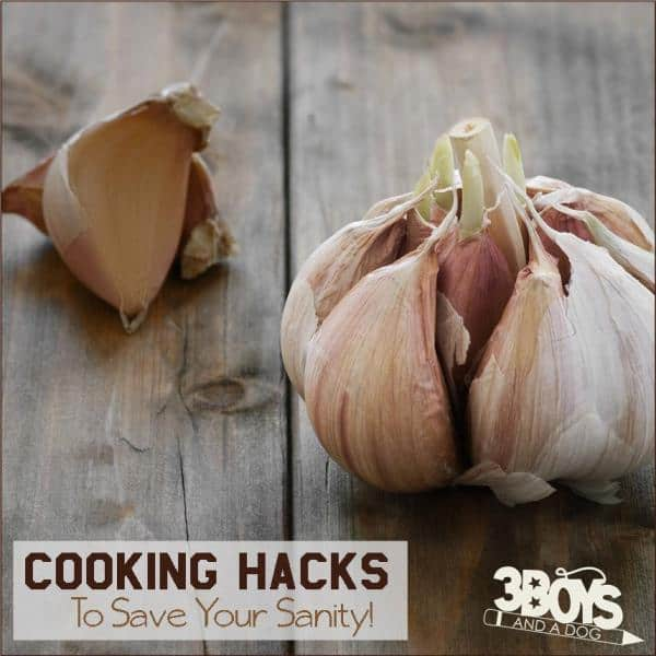 Cooking Hacks to Save Your Sanity