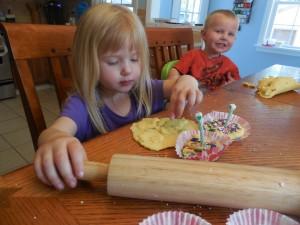 Cupcake Playdough