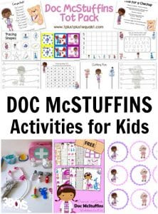 Fun Activities with Doc McStuffins!