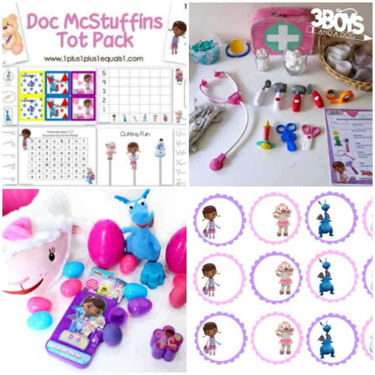 Doc McStuffins Activities for Kids to Do