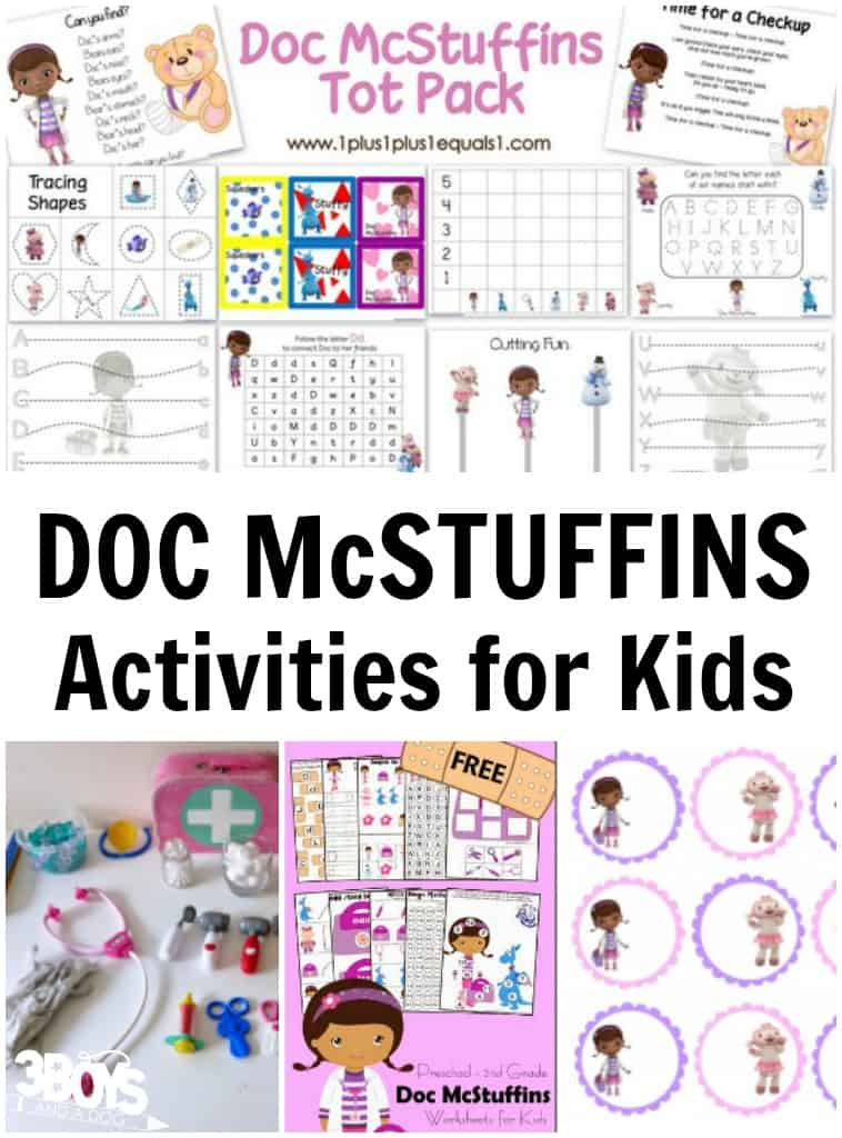 Doc McStuffins Activities for Kids