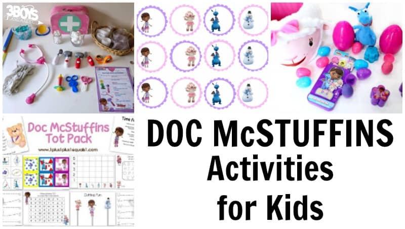 Doc McStuffins Activities
