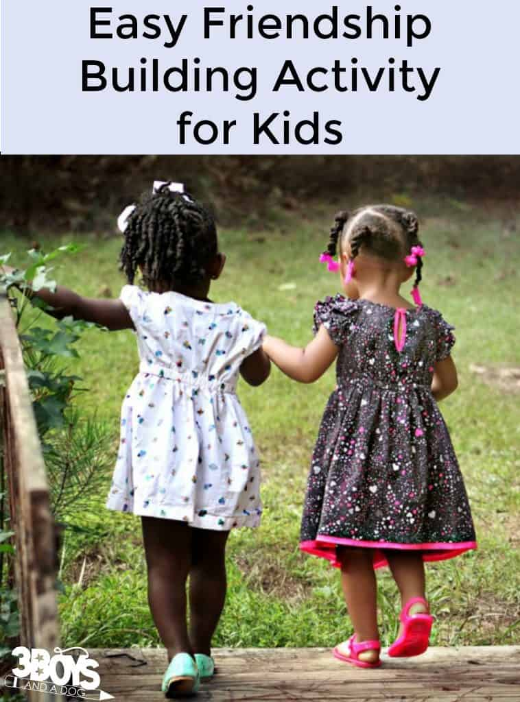 Easy Friendship Building Activity for Kids