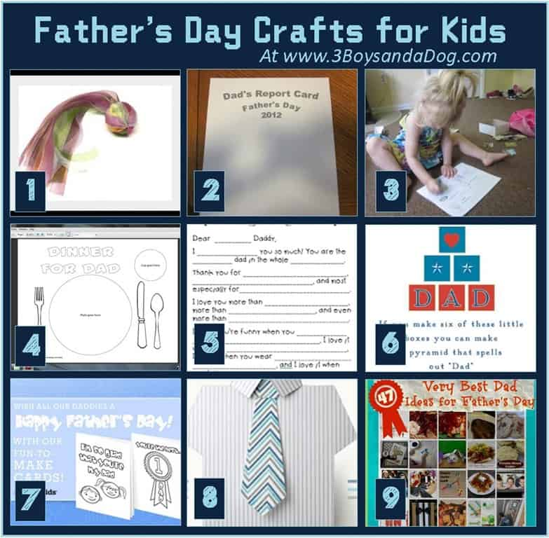 Fathers Day Crafts For Kids Sheknows Party Invitations Ideas ROmOPlPm