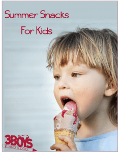 21 Fun Things for Kids to Eat This Summer!