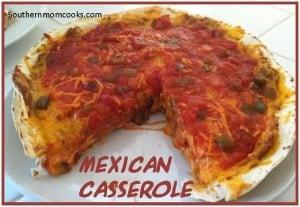 Mexican Casserole for Cinco de Mayo