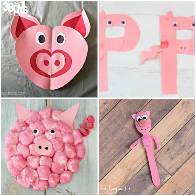 Fun Pig Craft Projects for Kids