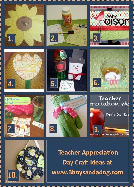 22 Teacher Appreciation Day Kids Activities 3 Boys And A Dog