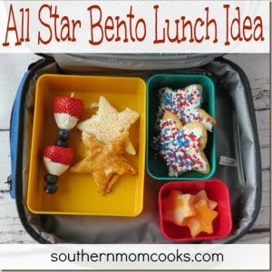 All Star Bento Lunch Idea