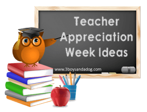 Teachable Moments:  Teacher Appreciation Week!