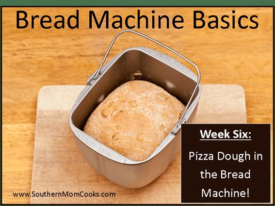 how to make pizza dough in a bread machine