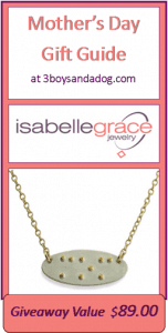 "GIVEAWAY: Braille ""Mom"" Necklace ($89 value) #happymothersday"