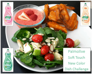 Menu Challenge:  Palmolive New Colors
