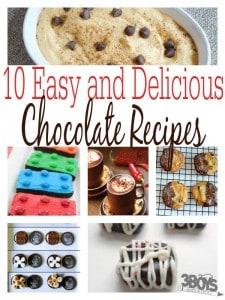 easy chocolate recipes