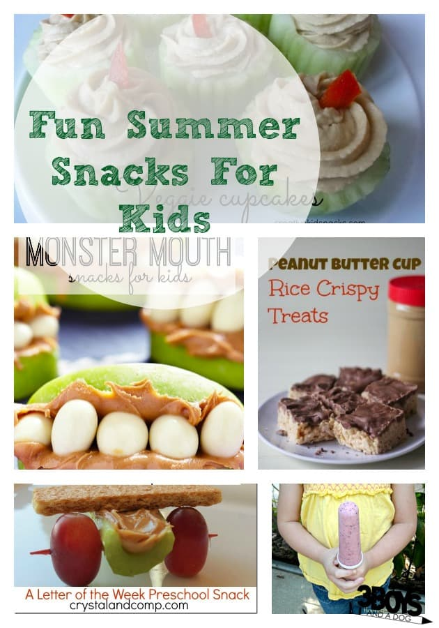 fun summer snacks for kids