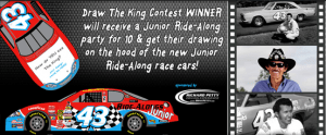 Win: Junior Ride-Along Party for 10 at Richard Petty Driving Experience!