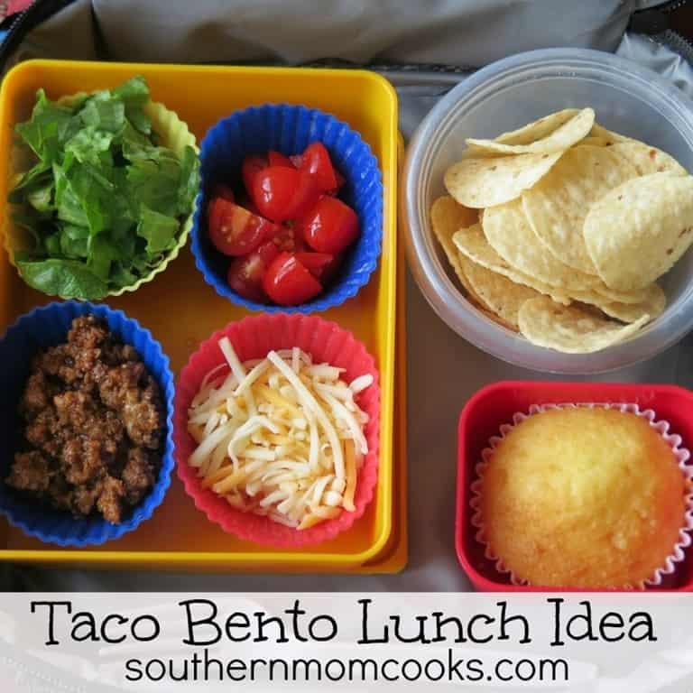 bento lunch recipe taco taco man 3 boys and a dog. Black Bedroom Furniture Sets. Home Design Ideas