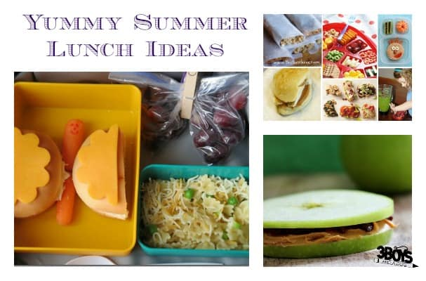 yummy summer lunch ideas