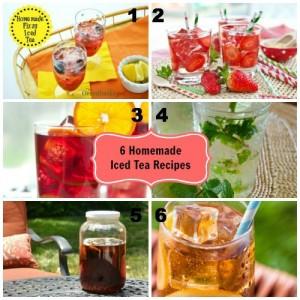 6 Homemade Iced Tea Recipes
