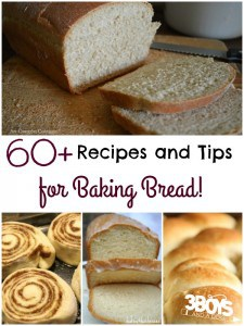 60 + Money Saving Bread Recipes & Bread Machine Tips