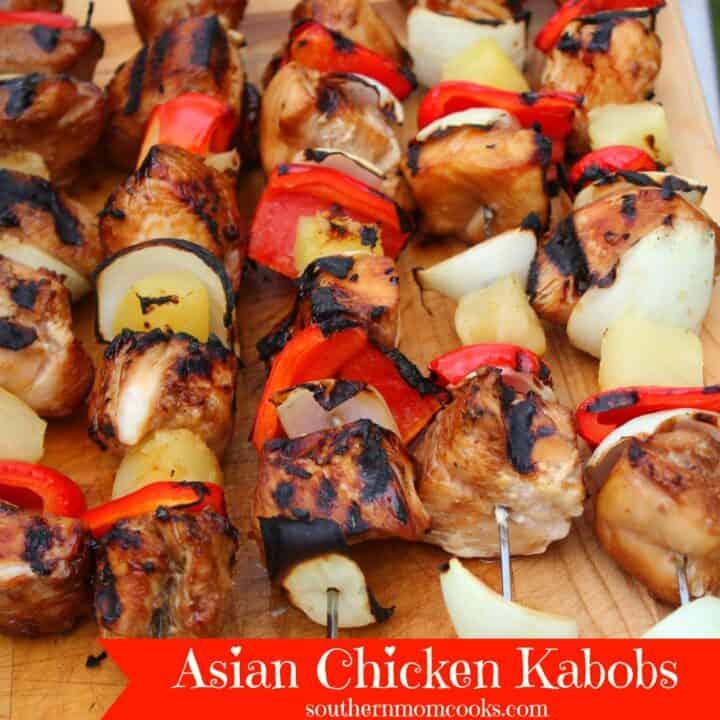 Asian Chicken Kabobs