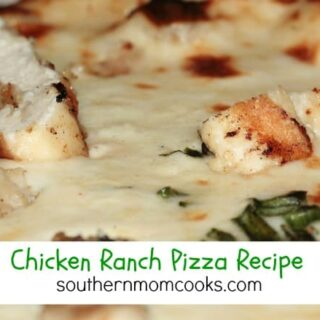 Chicken Ranch Pizza Recipe