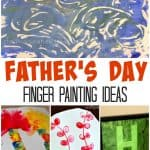Father's Day Finger Painting Ideas