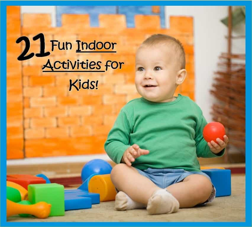 21 fun indoor activities for kids 3 boys and a dog for Indoor crafts for kids