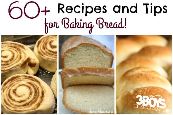 Money Saving Bread Recipes and Bread Machine Tips