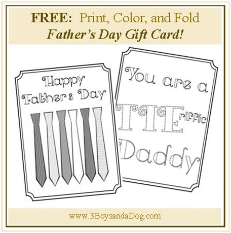 Tie_riffic daddy day card