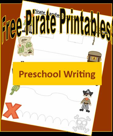 Pirate Printables: Preschool Prewriting Practice – 3 Boys and a Dog